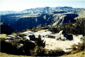 La Parroquia Chugchilán, por el año de 1984.